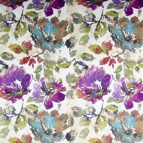 Material tapiterie model floral Opium Gemstone