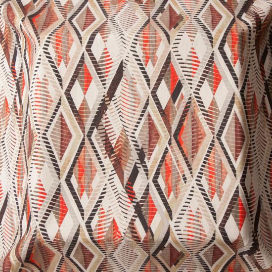 Material tapiterie cu motive etnice Tuareg Tierra