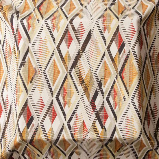 material tapiterie motive etnice Tuareg Verde