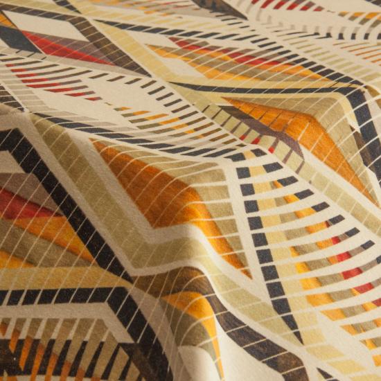 Catifea imprimata pentru tapiterie Tuareg Velvet Verde