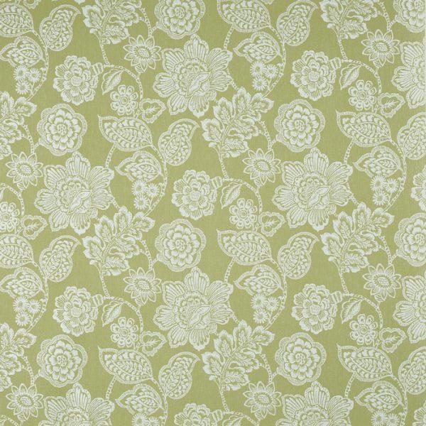 Material tapiterie model floral Alice Lichen