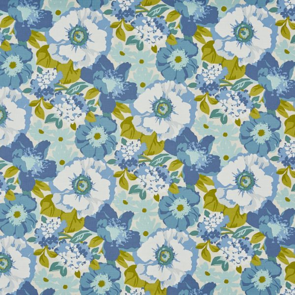 Draperii florale inspiratie retro Zumba Indigo