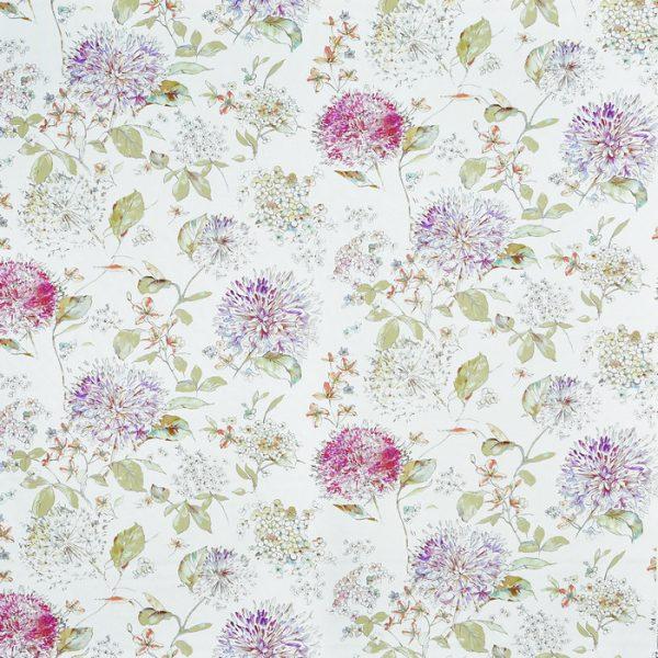 Draperii cu flori Lila Thistle