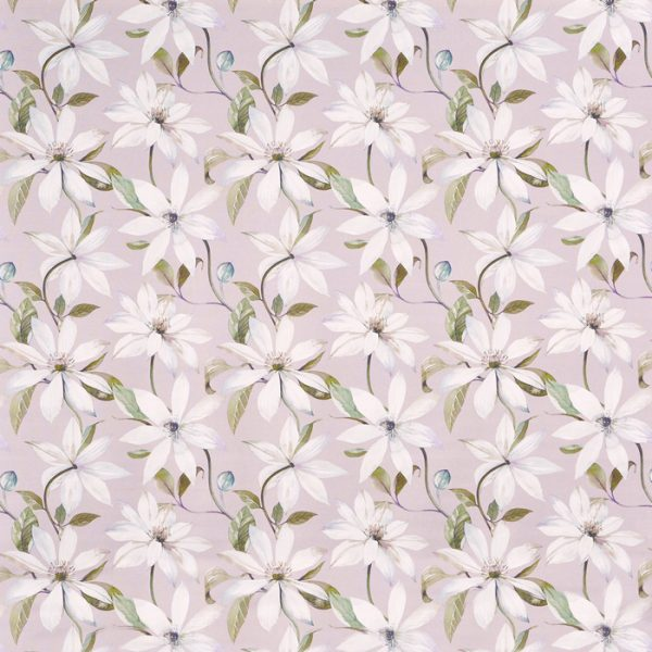 draperii cu model floral olivia thistle