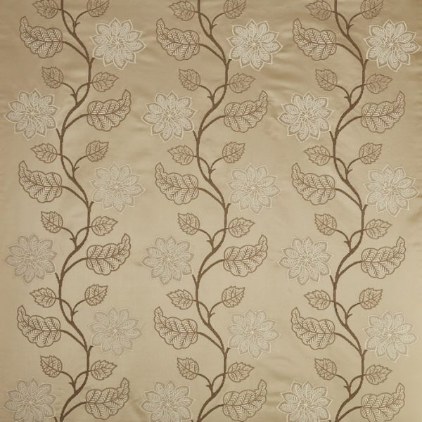 Draperii model floral Wilton Almond