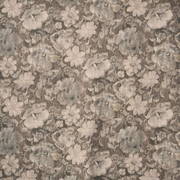 Material tapiterie cu model floral Labyrinth Quartz