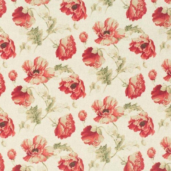 Material textil floral Cabaret