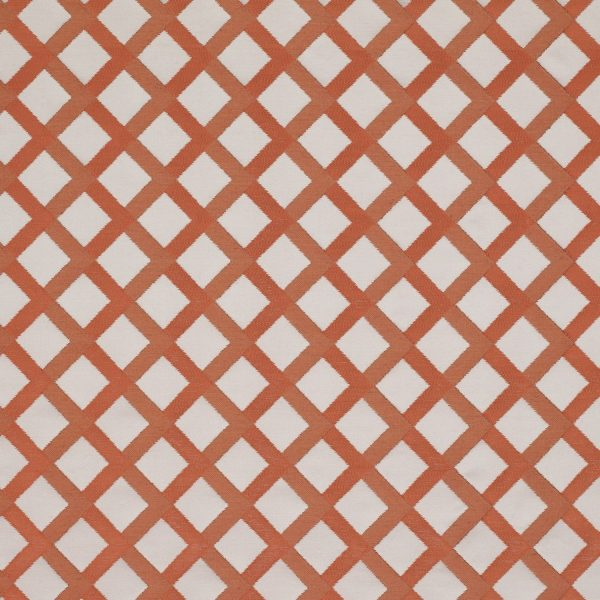 Draperii cu design geometric Mews Red Light