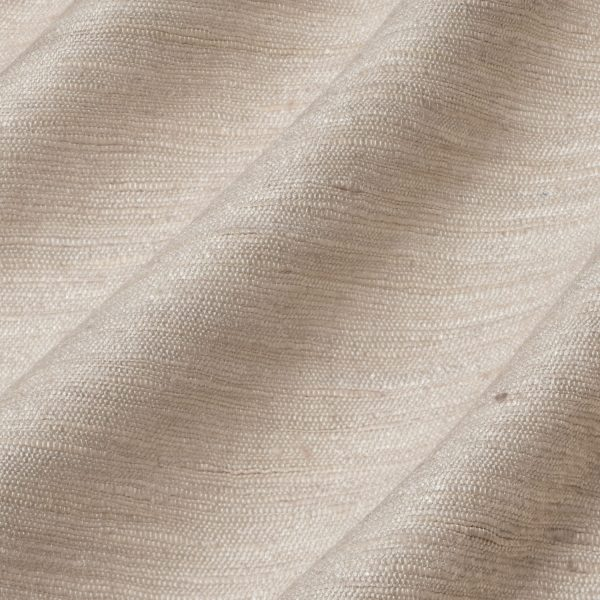 Draperii din matase salbatica ( de tussah ) Vyne Blanched Almond