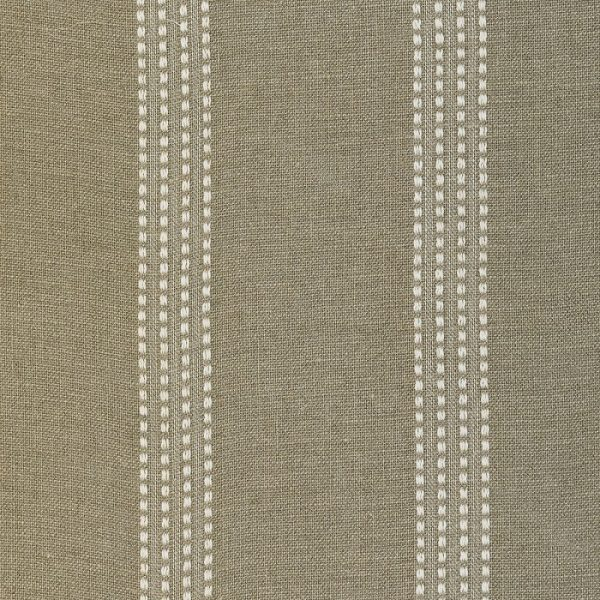 Draperii rustice din in Hay Stripe