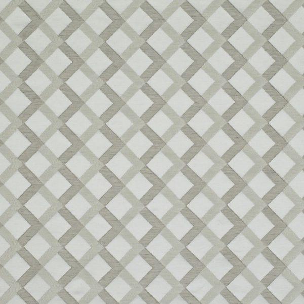 Draperii cu design geometric Mews Silver