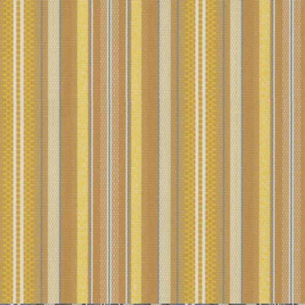 Material textil de exterior Rayure Amarillo