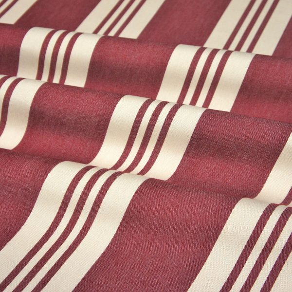 Material textil outdoor Calles Granate
