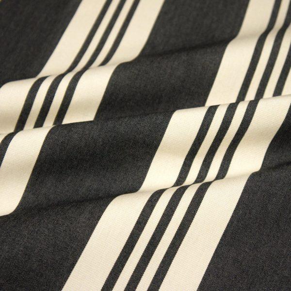 Material textil outdoor Calles Negro