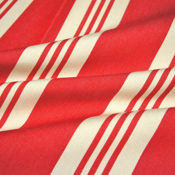 material textil outdoor Calles Rojo