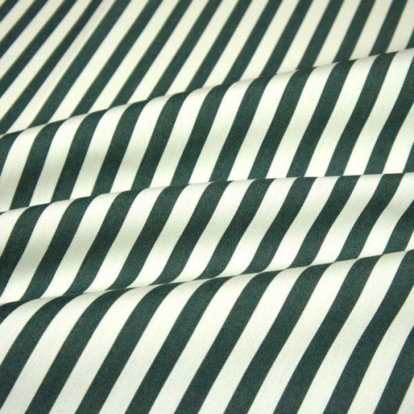 Material textil pentru exterior Blanco-Verde Oscuro