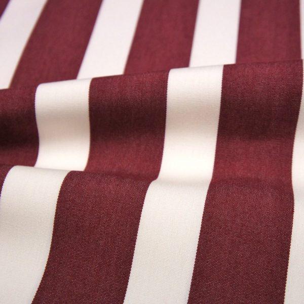 Material textil pentru exterior Listado Granate