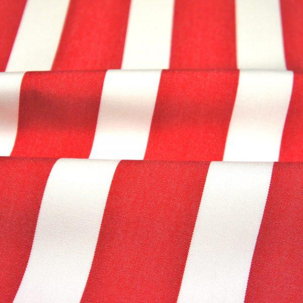 Material textil pentru exterior Listado Rojo