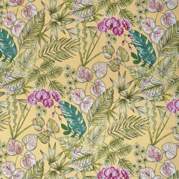 Material textil pentru exterior Bouquet Yellow