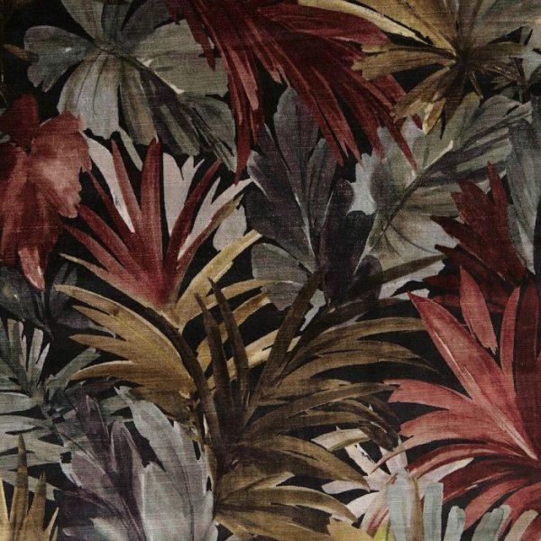 Catifea imprimata cu model floral Bahamas 1