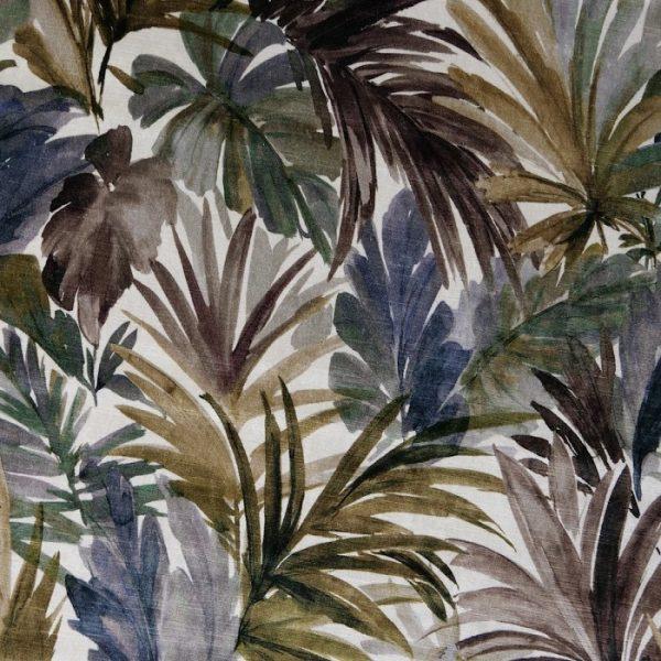 Catifea imprimata cu model floral Bahamas 2