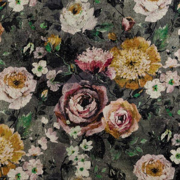 Catifea imprimata floral Rossini 01