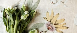 Draperii florale