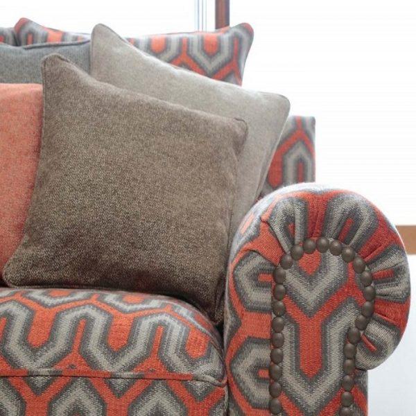 Material tapiterie cu design geometric Buckingham 1