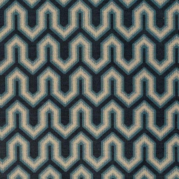 Material tapiterie cu design geometric Buckingham 3