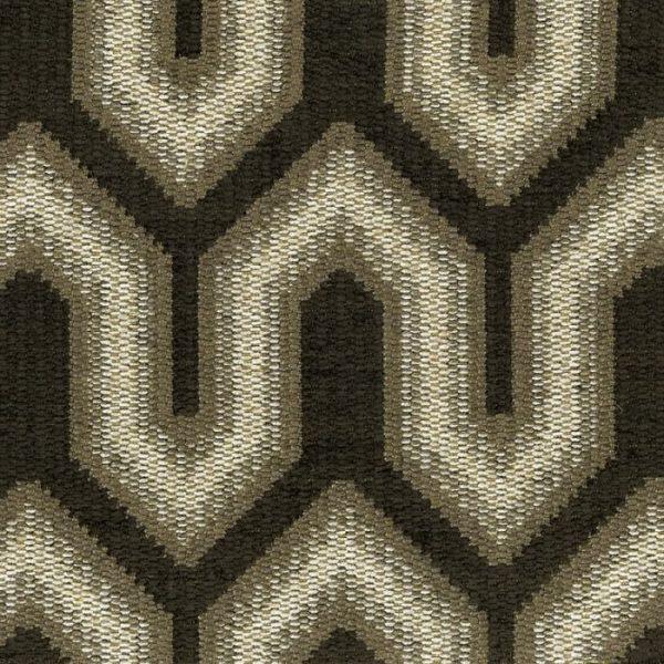 Material tapiterie cu design geometric Buckingham 5