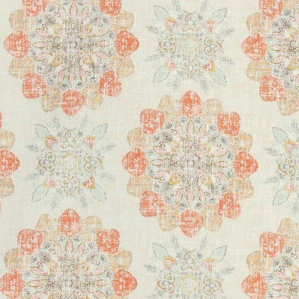 Material textil floral Dijon 3