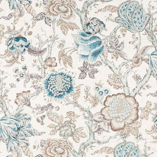 Material textil floral Leyre 1