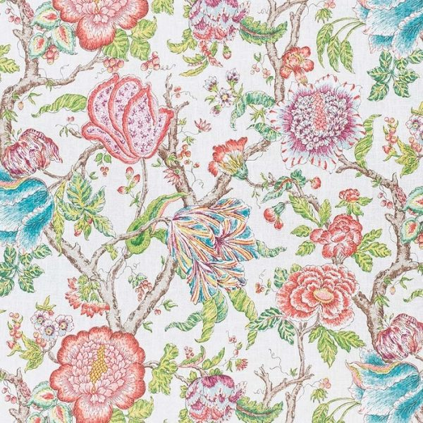 Material textil floral Leyre 2