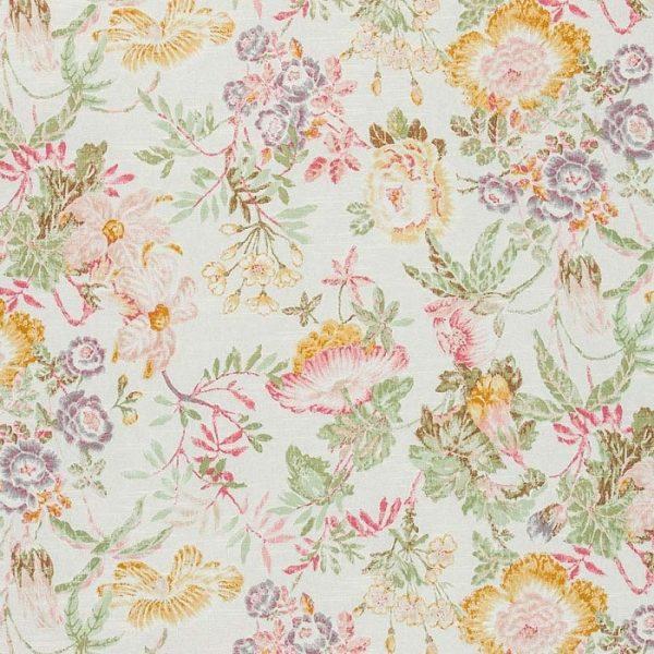 Material textil floral Vienne 2