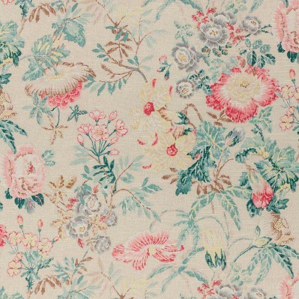 Material textil floral Vienne 3