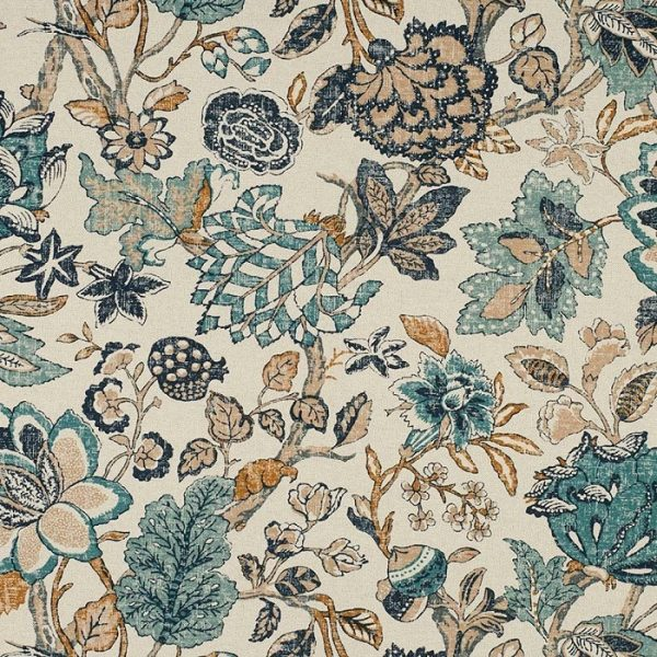 Material textil floral pentru tapiterie Grenoble 1
