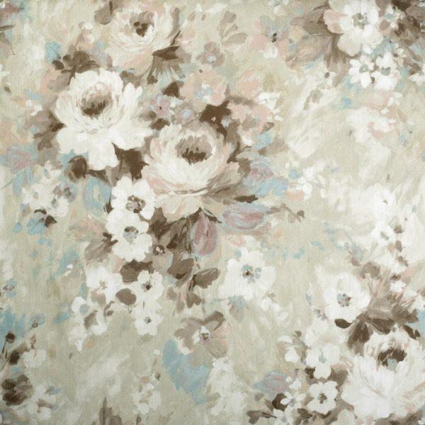 Material pentru tapiterie cu model floral Monet 01