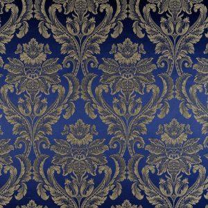 draperii clasice albastre