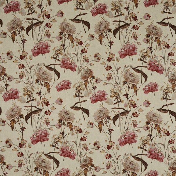 Draperii cu imprimeu floral Chiswick Woodrose
