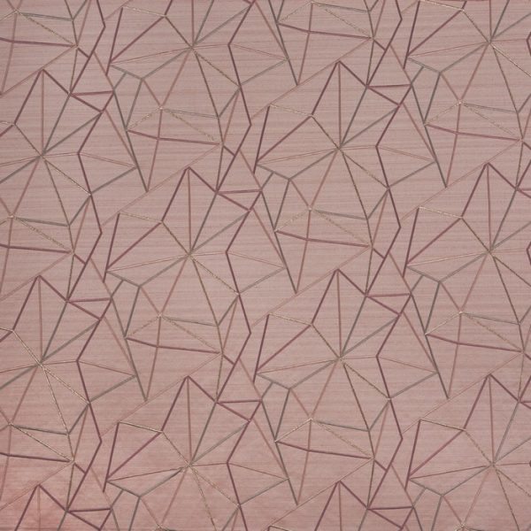 Draperii moderne Fraction Rose Quartz