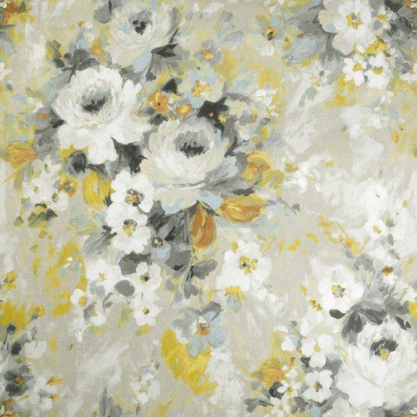 Material pentru tapiterie cu model floral Monet 04