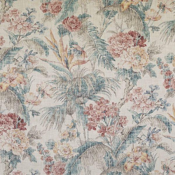 Material pentru tapiterie cu model floral Branklyn 1