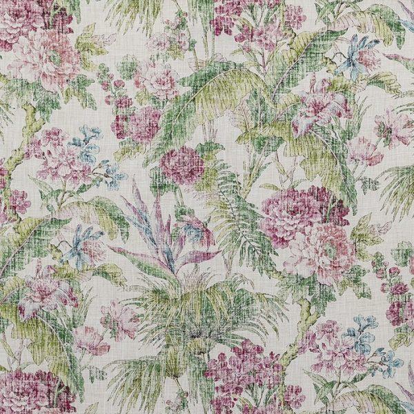 Material pentru tapiterie cu model floral Branklyn 3