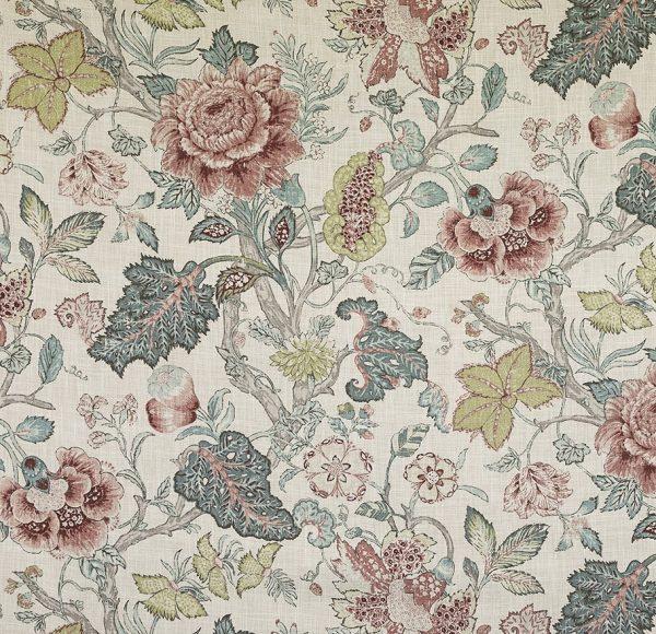 Material pentru tapiterie cu model floral Drummond 1