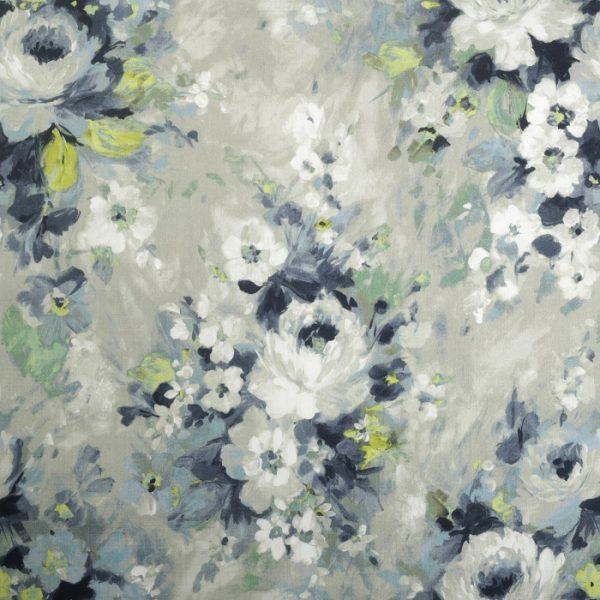 material pentru tapiterie cu model floral Monet 02