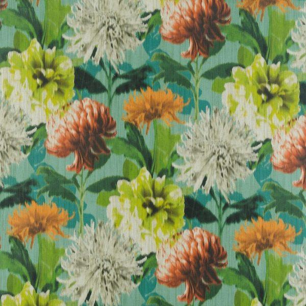 Material textil cu flori supradimensionate Impres 02