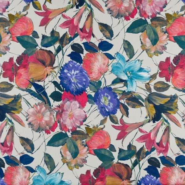 Material textil floral Pepo 01