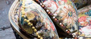 material vintage pentru tapiterie