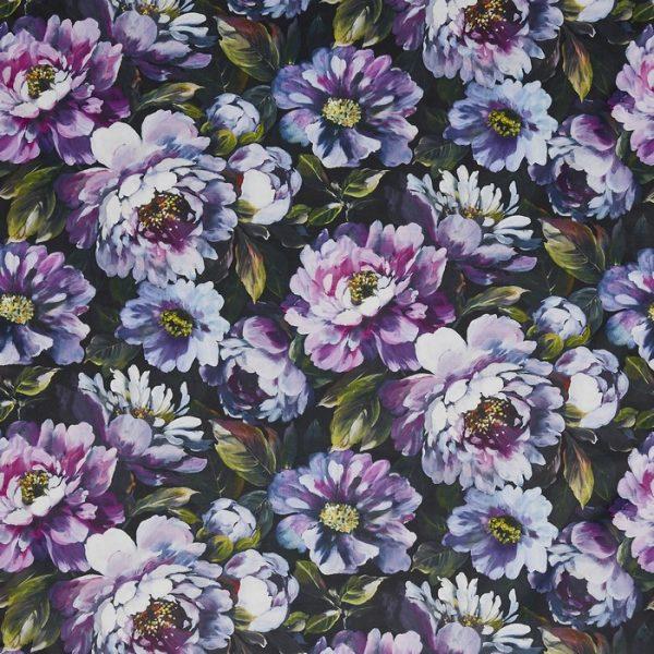 Draperii florale Secret Oasis Ultra Violet