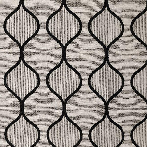 Material textil cu design geometric Kawi
